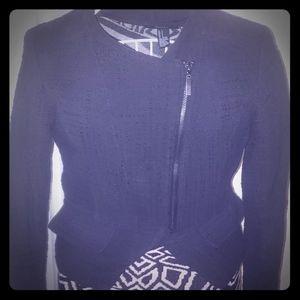 Mossimo Black Cropped Blazer